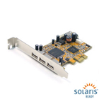 Antaira 3+1 Port USB 2.0 PCI Express Card (WHQL Certified) (USB-68001)